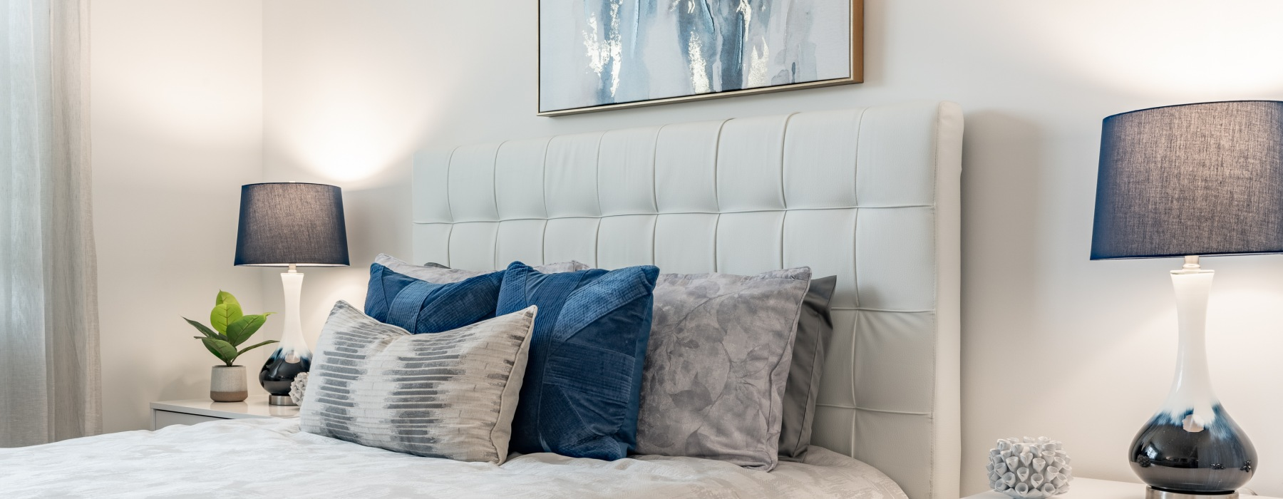 Bedroom with Accent Pieces