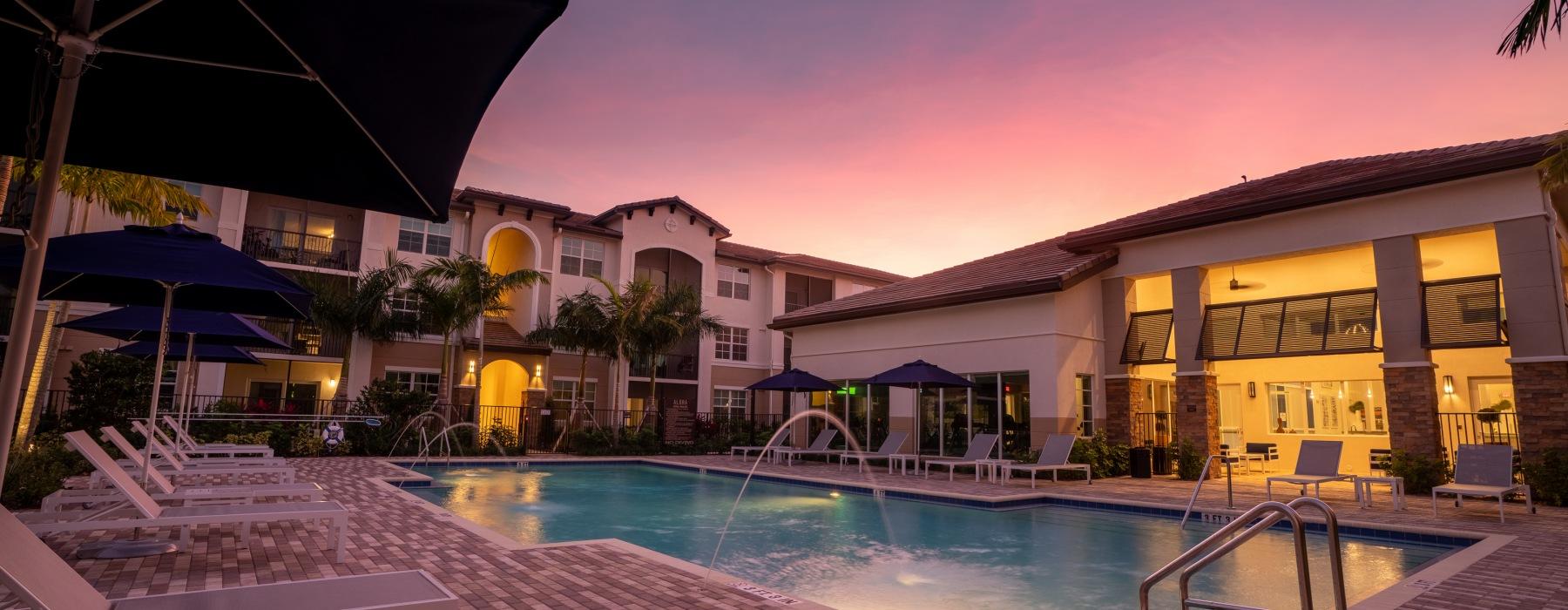 Alora at Sunset w/ Pool